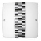 Светильник настенно-потолочный Rabalux Domino 3933 хром, серый
