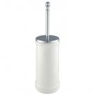 Ершик для унитаза напольный Migliore Luxury Mirella 17236 CR хром/белая керамика