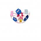 Люстра подвесная Rabalux Birdy 6389 для детской