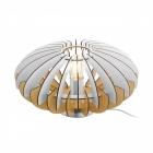 Настольная лампа Eglo Sotos 96965 скандинавский, сталь, дерево, сатиновый никель, натуральный, белый