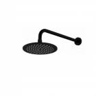 Верхний душ с держателем Impulse i2540000 черный матовый сталь