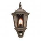 Уличный настенный светильник с сенсором Elstead Lighting Medstead MD7-PIR-BLACK