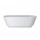 Отдельностоящая ванна из литого мрамора Miraggio SIENA MATT 180x80 белая матовая