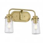 Настенный светильник влагостойкий Elstead Lighting Braelyn QN-BRAELYN2-BB