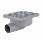 Душевой трап Lidz LIDZWHI6007T00301 решетка квадрат, пластик