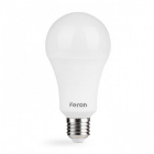 Лампочка светодиодная матовая Feron 01756 LB-705  A60 230V 15W 1250Lm E27 6500K