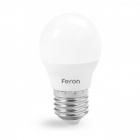 Лампочка светодиодная матовая Feron 25676 LB-745 G45 230V 6W 540Lm E27 6400K
