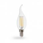 Лампочка светодиодная прозрачная Feron 40084 LB-160 CF37 230V 7W 700Lm E14 2700K