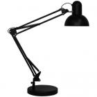 Настольный светильник на зажиме Feron DE1430 24233 черный
