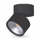 Спот потолочный влагостойкий Feron AL541 32581 черный LED 4000K