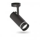 Спот потолочный влагостойкий Feron AL556 40108 черный LED 4000K