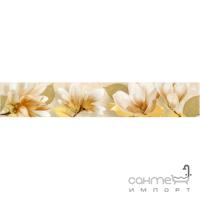 Плитка керамическая Интеркерама SAFARI бордюр БВ 73 031-1 (цветы)