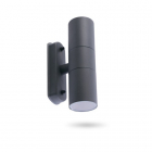Настенный светильник уличный Feron DH0704 11881 серый