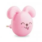 Светильник настенный ночник детский Feron FN1167 23349 розовый LED
