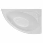 Ассиметричная акриловая ванна Imprese Blatna 150 R правая, белая