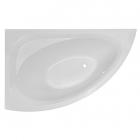 Ассиметричная акриловая ванна Imprese Blatna 150 L левая, белая