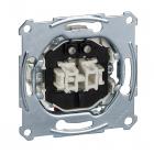 Механизм выключателя двухклавишного Schneider Electric Merten System M MTN3165-0000
