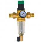 Фильтр самопромывной с редуктором для холодной воды 1/2 SD Forte SF128W15C