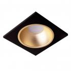 Точечный светильник MJ-Light 6002S BK + 3001R CG черный-золото