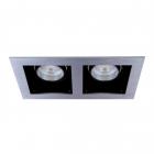 Точечный светильник MJ-Light 102 AL черный-алюминий
