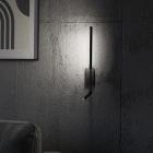 Настенный светильник MJ-Light KONO READ 3200K BK 15003 6W +3W черный