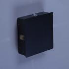 Настенный светильник влагостойкий MJ-Light A130/4 4×4 W черный