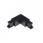 Соединитель для трековых светильников L-тип Kanlux TEAR N CON-L RL-B 33243
