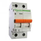 Автоматический выключатель Scheider Electric ВА63 1П+Н 63A C 220W 11219