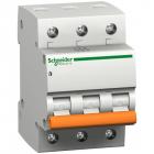 Автоматический выключатель Scheider Electric ВА63 3П 16A C 220W 11223