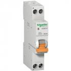 Дифференциальный автомат Scheider Electric АД63К 1П+Н 20A 30MA 240W 12523