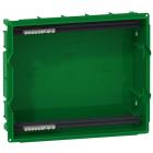 Задняя часть распределительного щита Schneider Electric Mini Pragma 1 ряд/4 модуля MIP82104