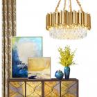 Люстра хрустальная Terra Svet Empire Wall Luxxu Gold 055572/D - 400 gold