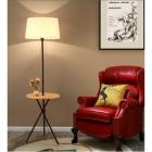 Торшер со столиком и абажуром Terra Svet Wood 05554/F1
