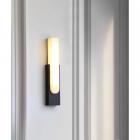 Настенный светильник Terra Svet Marble Wall Lamp 054039/1w bk-wt LED 12W