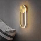 Настенный светильник Terra Svet Cloo Wall Lamp 052727/1 w gd LED 26W