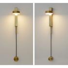 Настенный светильник Terra Svet Teco Long Lamp 059367/1 w gd LED 10W