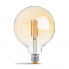 Светодиодная лампа прозрачная диммируемая Videx NeoClassic G125FAD 7W E27 2200K 220V 630lm