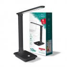 Настольная лампа на гибкой ножке Videx Titanium TLTF-009B LED 10W 3000-6500K