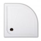 Полукруглый душевой поддон Primera Frame 90x90 FTQ2090 белый