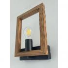 Настенный светильник деревянный Sirius S7146/1 E27, лофт