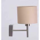 Настенный светильник бра Sirius H355-1A E27, сатин, текстиль