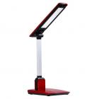 Настольная лампа сенсорная Sirius HL-5605 red 6W LED 3000-4300-6000K, белый-красный-черный