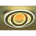 Люстра потолочная с пультом ДУ Sirius Ш 55568/400 124W, LED 3200-6500K, белый-хром