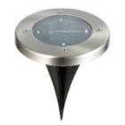 Декоративный уличный светильник вкапываемый на солнечной батарее Sirius 22003, LED 6500K, 2W (время работа - до 8 часов)