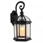 Уличный светильник настенный Sirius YD-0602 E27, черный