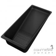 Коландер для кухонный моек Hansgrohe 40963000 матовый черный