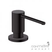 Дозатор кухонный врезной Hansgrohe A41 40438670 матовый черный