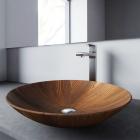 Раковина деревянная Pelicano Glory 50x50 черный ясень
