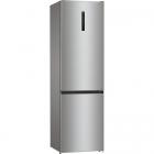 Отдельностоящий двухкамерный холодильник с нижней морозильной камерой Gorenje NRK 6202 AXL 4 серебристый металлик