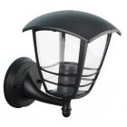 Настенный уличный светильник Horoz Electric Nar-1 E27 075-016-0001-010 черный